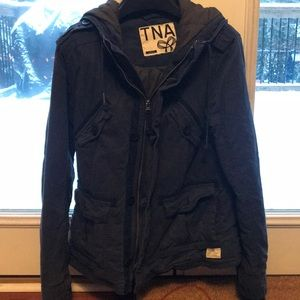 Navy blue TNA jacket